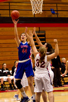 Glenbard South vs Glenbard East Basketball Nov 26