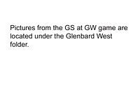 Glenbard South at Glenbard West